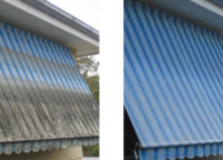 Awning Washing