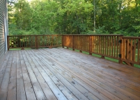 Deck After - TWP Cedartone